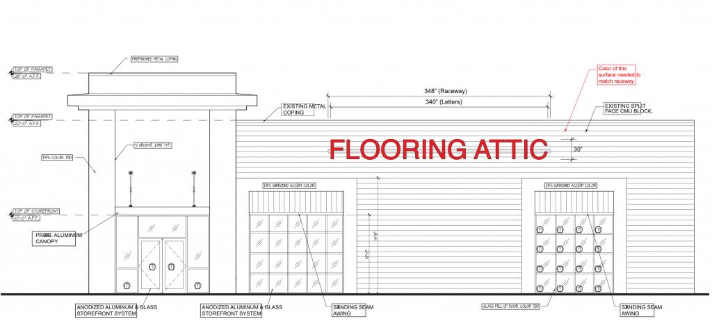 Sketch   Flooring Attic