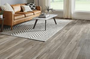 rigid core flooring in living room